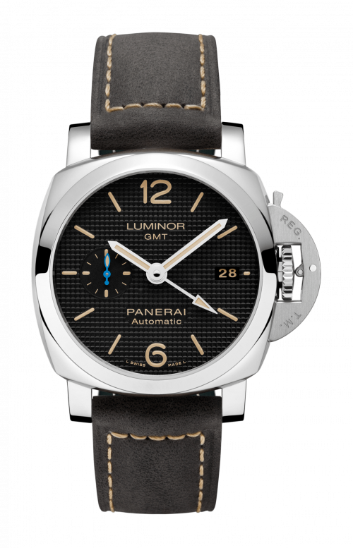 LUMINOR 1950 3 DAYS GMT AUTOMATIC ACCIAIO - 42 MM - PAM01535