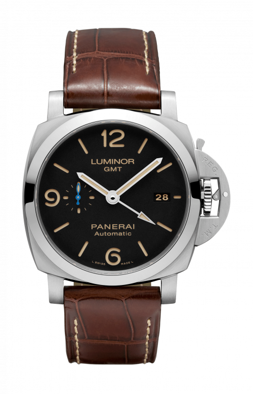 LUMINOR 1950 3 DAYS GMT AUTOMATIC ACCIAIO - 44 MM - PAM01320