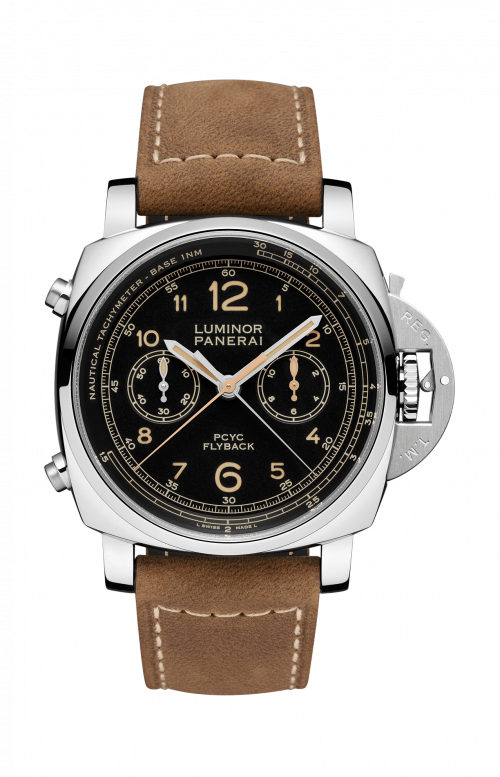 LUMINOR 1950 PCYC 3 DAYS CHRONO FLYBACK AUTOMATIC ACCIAIO - 44MM - PAM00653