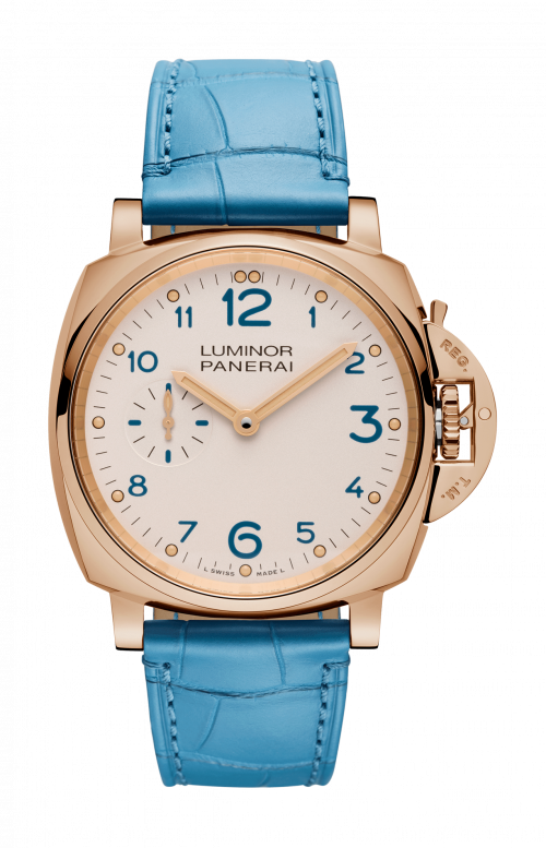 LUMINOR DUE 3 DAYS ORO ROSSO - 42 MM - PAM00741