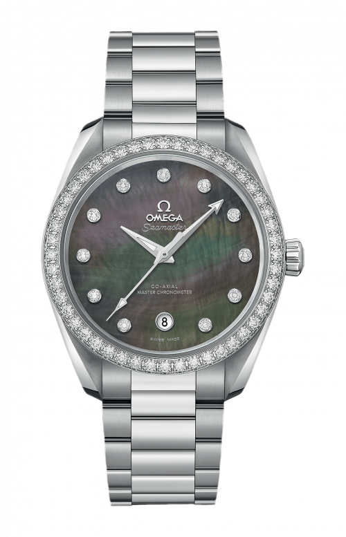SEAMASTER AQUA TERRA 150M OMEGA CO-AXIAL MASTER CHRONOMETER LADIES' 38 MM - 220.15.38.20.57.001