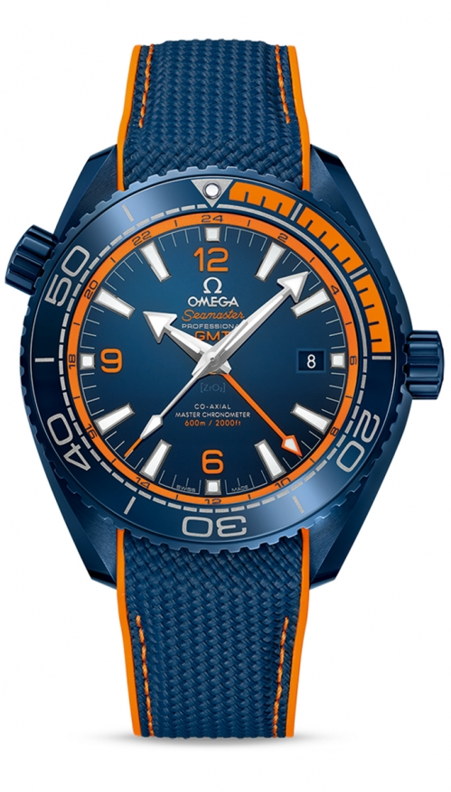 SEAMASTER PLANET OCEAN 600M OMEGA CO-AXIAL MASTER CHRONOMETER GMT 45,5 MM - 215.92.46.22.03.001