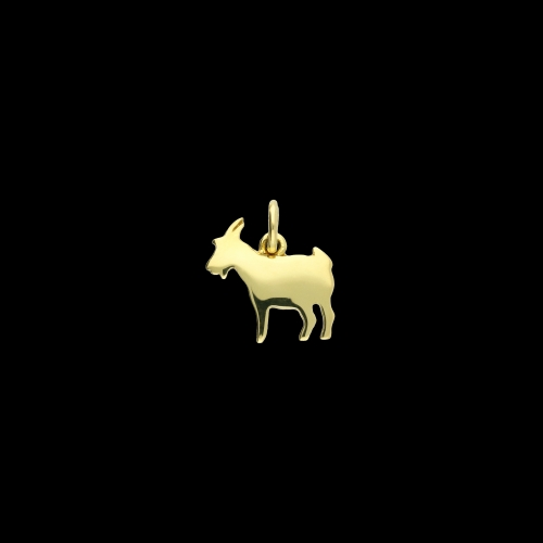 Dodo Capretta in oro giallo misura grande - D12CPGOG