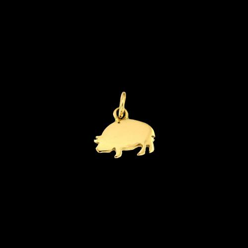 Dodo Porcellino in oro giallo 18 carati - D1PCGOG