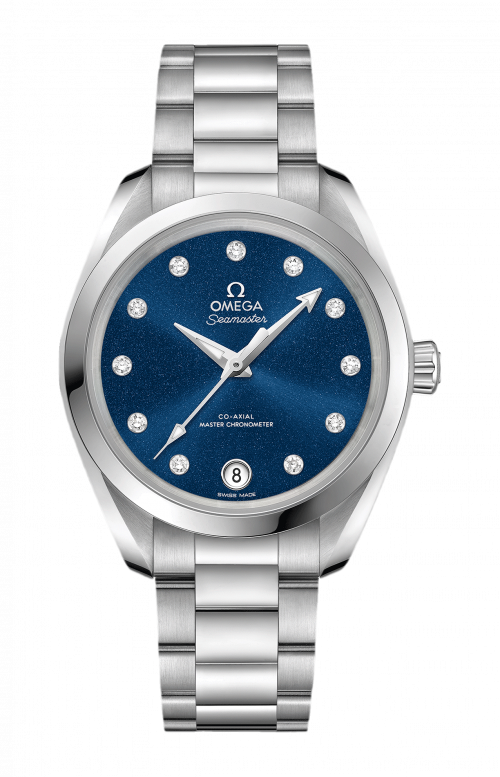 SEAMASTER AQUA TERRA 150M OMEGA CO-AXIAL MASTER CHRONOMETER 34 MM - 220.10.34.20.53.001