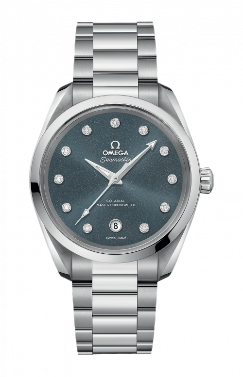 SEAMASTER AQUA TERRA 150M OMEGA CO-AXIAL MASTER CHRONOMETER LADIES' 38 MM - 220.10.38.20.53.001