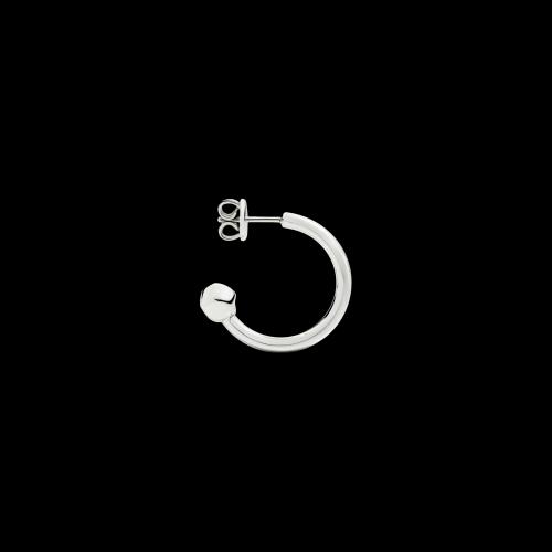 DODO ORECCHINO CUFF - Orecchino cerchio cuff singolo in argento - DOHCUFF/PEP/A/K