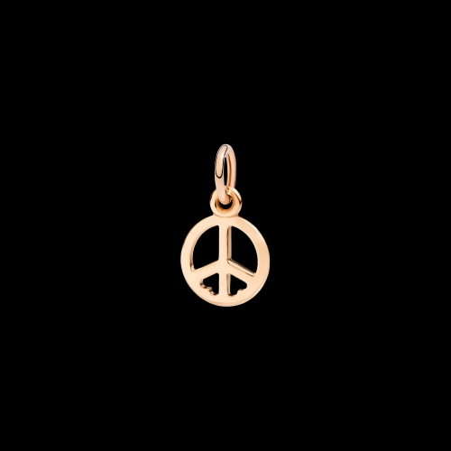 DODO FOLLOW YOUR DREAMS - SIMBOLO DELLA PACE - Ciondolo in oro rosa 9kt - DMPEACE/9/K