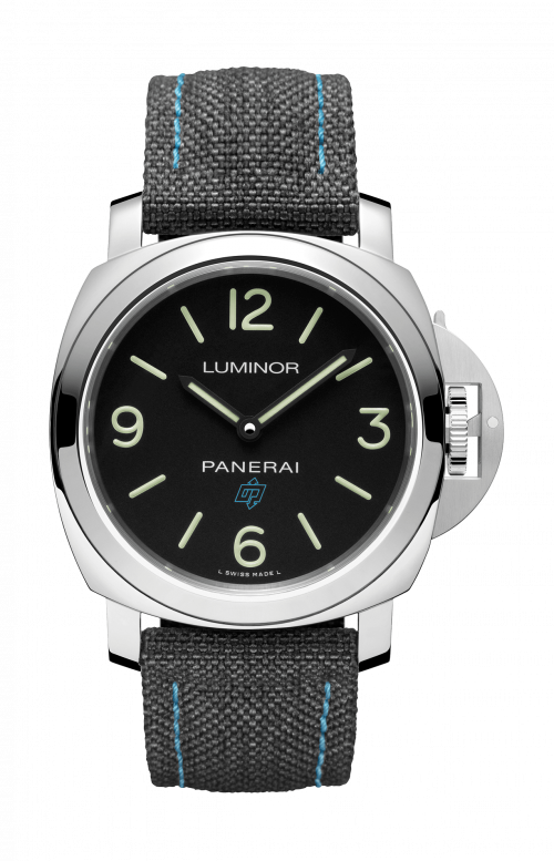 LUMINOR BASE LOGO 3 DAYS ACCIAIO - 44MM - PAM00774