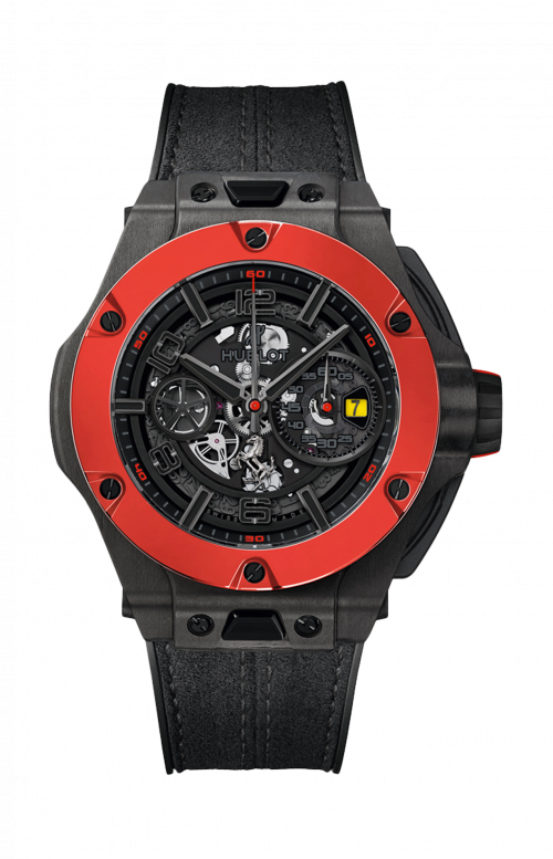 BIG BANG FERRARI UNICO CARBON RED CERAMIC - LIMITED EDITION 500 PZ. - 402.QF.0110.WR