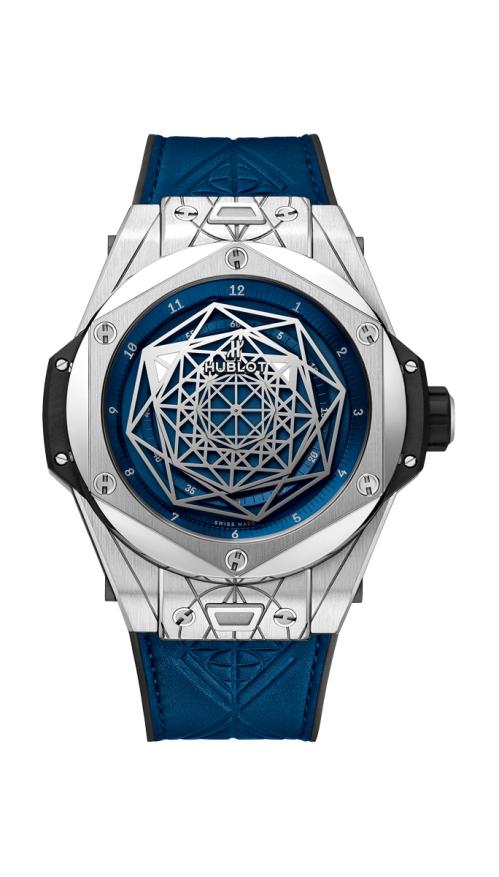 BIG BANG SANG BLEU TITANIUM BLUE - LIMITED EDITION 200 PZ - 415.NX.7179.VR.MXM18