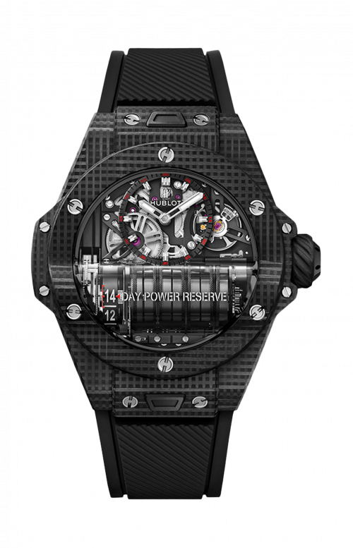 BIG BANG MP-11 POWER RESERVE 14 DAYS 3D CARBON - LIMITED EDITION 200 PZ. - 911.QD.0123.RX