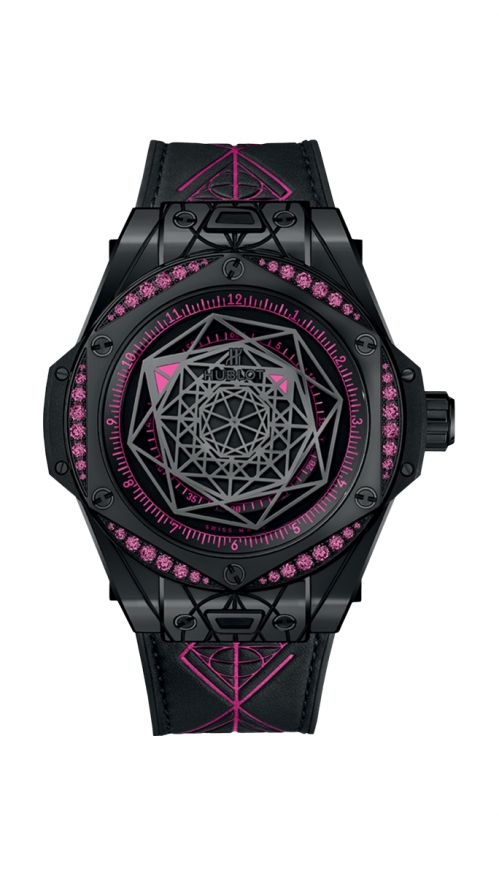 BIG BANG SANG BLEU ALL BLACK PINK - LIMITED EDITION 100 PZ. - 465.CS.1119.VR.1233.MXM18
