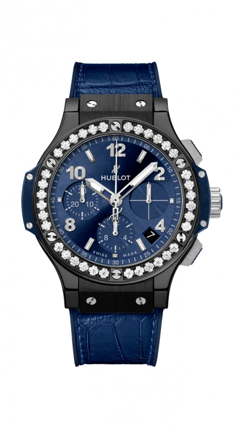 BIG BANG CERAMIC BLUE DIAMONDS - 341.CM.7170.LR.1204