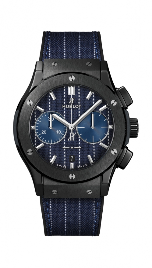 CLASSIC FUSION CHRONOGRAPH ITALIA INDEPENDENT PINSTRIPE CERAMIC - LIMITED EDITION 100 PZ. - 521.CM.2707.NR.ITI18