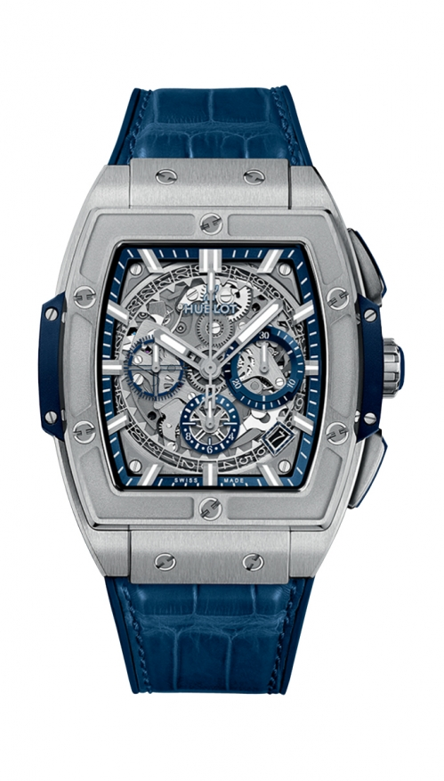 SPIRIT OF BIG BANG TITANIUM BLUE - 641.NX.7170.LR