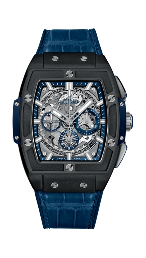 SPIRIT OF BIG BANG CERAMIC BLUE - 641.CI.7170.LR