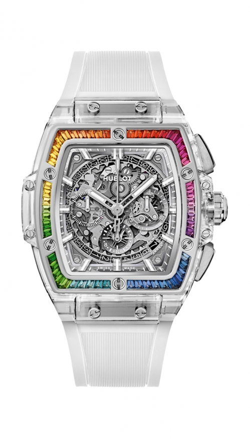 SPIRIT OF BIG BANG SAPPHIRE RAINBOW - LIMITED EDITION 50 PZ - 641.JX.0120.RT.4099