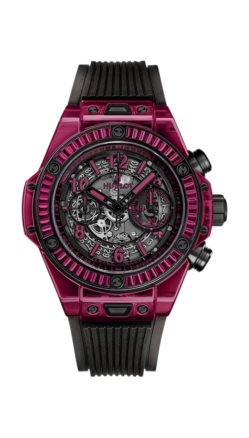 BIG BANG UNICO RED SAPPHIRE BAGUETTES - 411.JR.4901.RT.1902