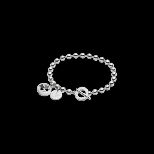 Bracciale Boulem in argento con cionndoli charms incorporati - YBA3909540010