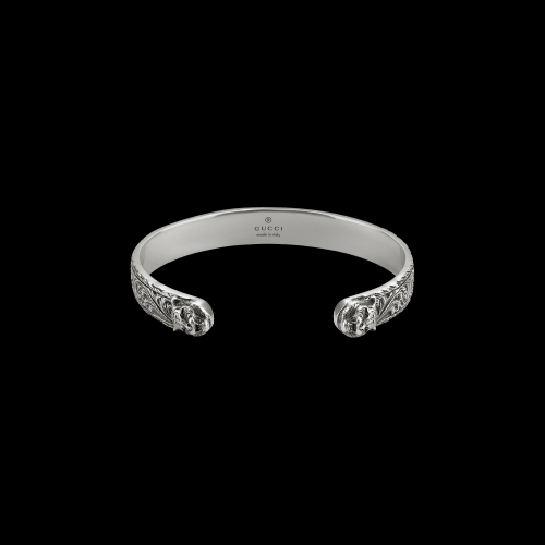 Bracciale bangle in argento 750