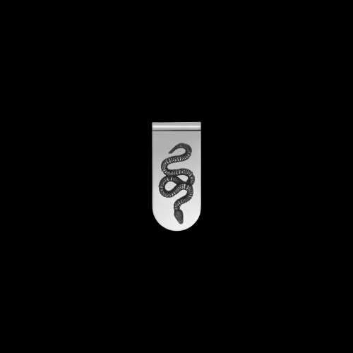 Fermasoldi Gucci Serpente in argento -  YBF45690400100U