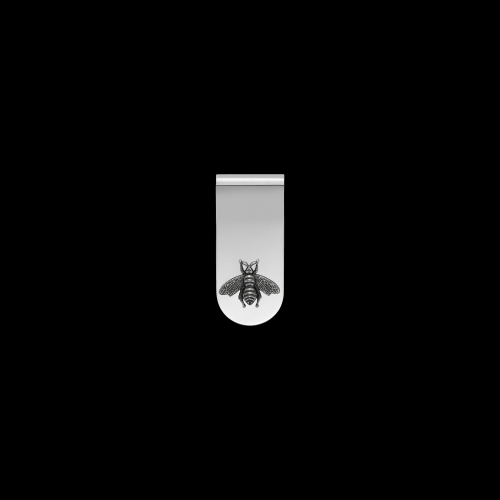 Fermasoldi Gucci Ape in argento - YBF45690700100U