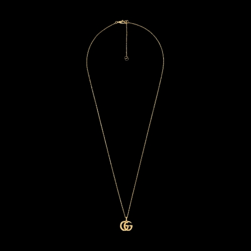 Collana Gucci GG Running in oro giallo con pendente integrato