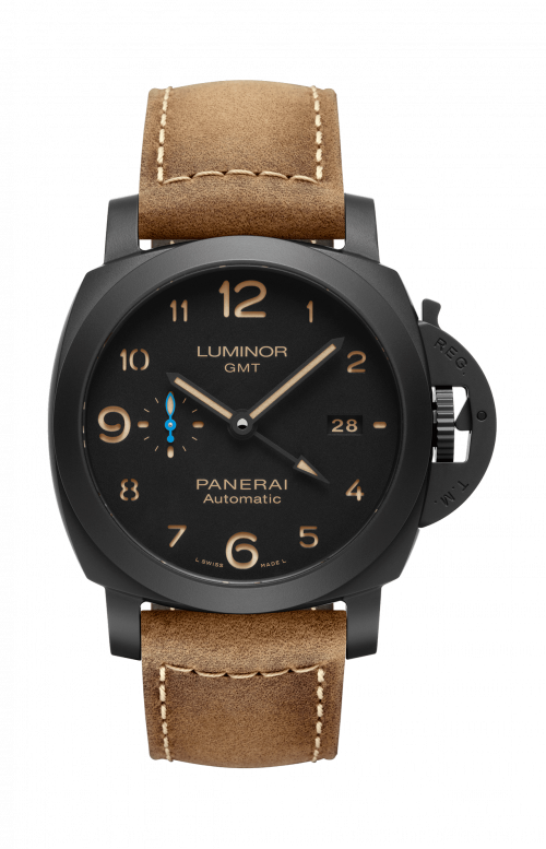 LUMINOR 1950 3 DAYS GMT AUTOMATIC CERAMICA - 44 MM - PAM01441