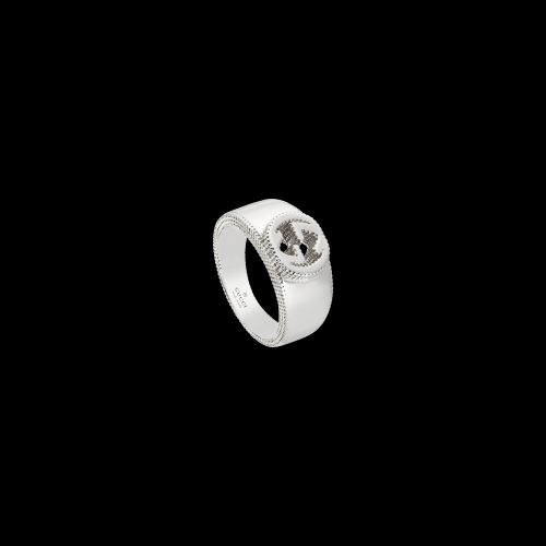 Anello Gucci Interlocking in argento -  YBC4792290010