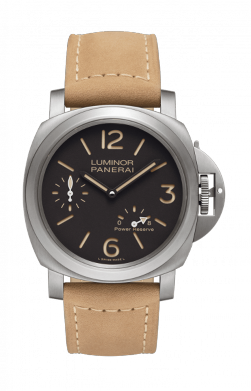 LUMINOR 8 DAYS POWER RESERVE TITANIO - 44MM - PAM00797