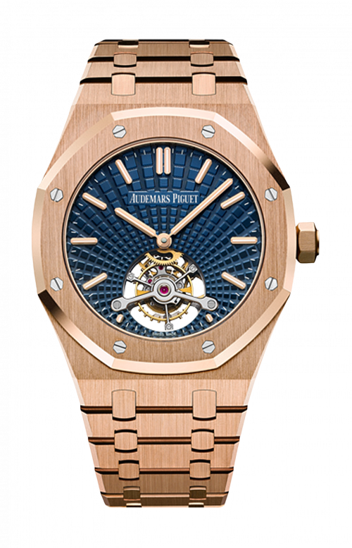 ROYAL OAK TOURBILLON EXTRA-PIATTO - 26522OR.OO.1220OR.01