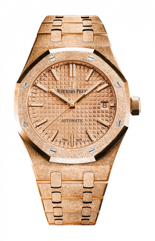 ROYAL OAK FROSTED GOLD SELFWINDING - 15454OR.GG.1259OR.03