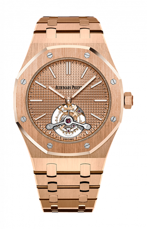 ROYAL OAK TOURBILLON EXTRA-THIN - SPECIAL EDITION - LIMITED EDITION 25 PZ. - AVAILABILITY TO BE CONFIRMED - 26515OR.OO.1220OR.01