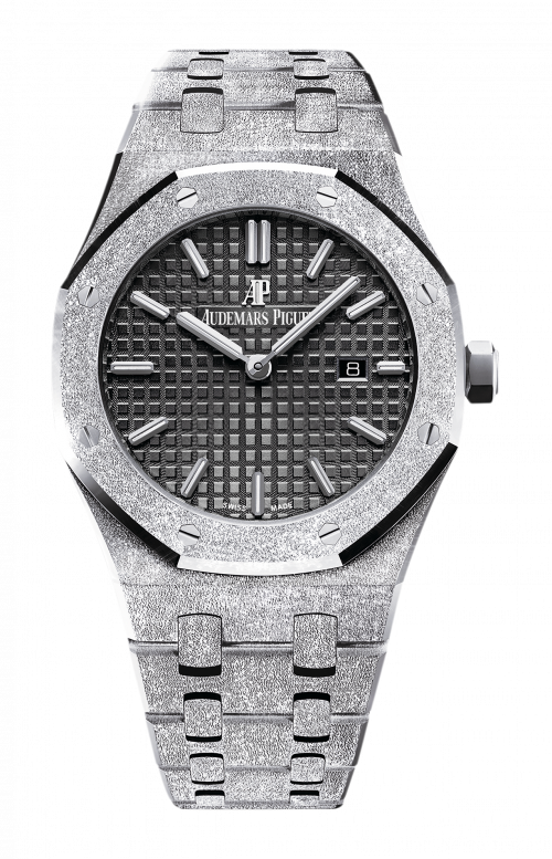 ROYAL OAK FROSTED GOLD QUARZO - 67653BC.GG.1263BC.02