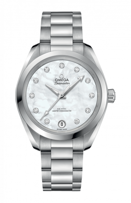 SEAMASTER AQUA TERRA 150M OMEGA CO-AXIAL MASTER CHRONOMETER 34 MM - 220.10.34.20.55.001