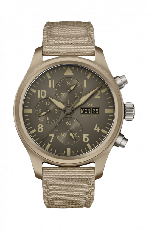 PILOT'S WATCH CHRONOGRAPH TOP GUN EDITION «MOJAVE DESERT» - LIMITED EDITION TO 500 PZ - IW389103