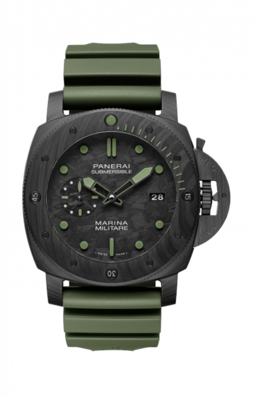 SUBMERSIBLE MARINA MILITARE CARBOTECH™ - 47 MM - LIMITED TO 33 PZ - PAM00961