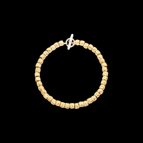 DODO GOOD LUCK - KIT BRACCIALE GRANELLI ORO GIALLO - ANIMA IN ARGENTO - DKB/3/O/K