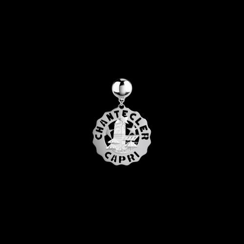 Orecchino Piazzetta di Capri in argento - 38909