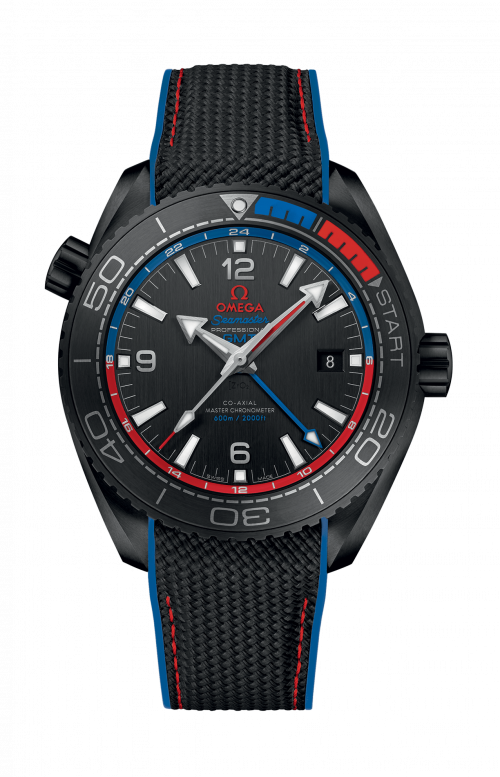 SEAMASTER PLANET OCEAN 600M OMEGA CO-AXIAL MASTER CHRONOMETER GMT 45,5 MM