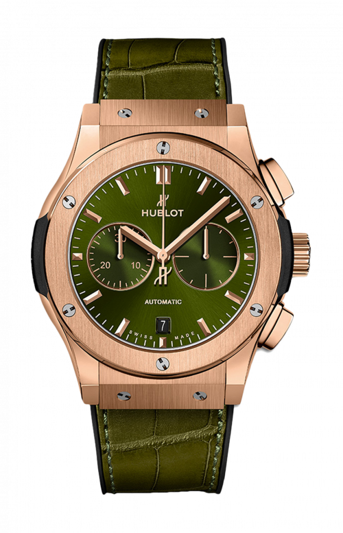 CLASSIC FUSION CHRONOGRAPH KING GOLD GREEN 42 MM - 541.OX.8980.LR