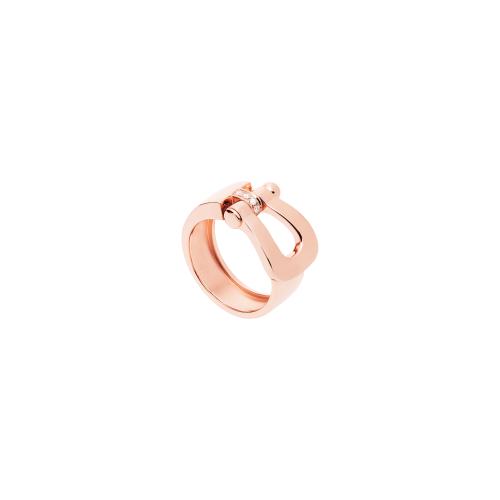 ANELLO FORCE 10 IN ORO ROSA E DIAMANTI MODELLO LARGE - 4B0357