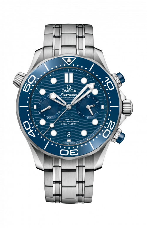 SEAMASTER DIVER 300M OMEGA CO-AXIAL MASTER CHRONOMETER CHRONOGRAPH 44 MM - 210.30.44.51.03.001