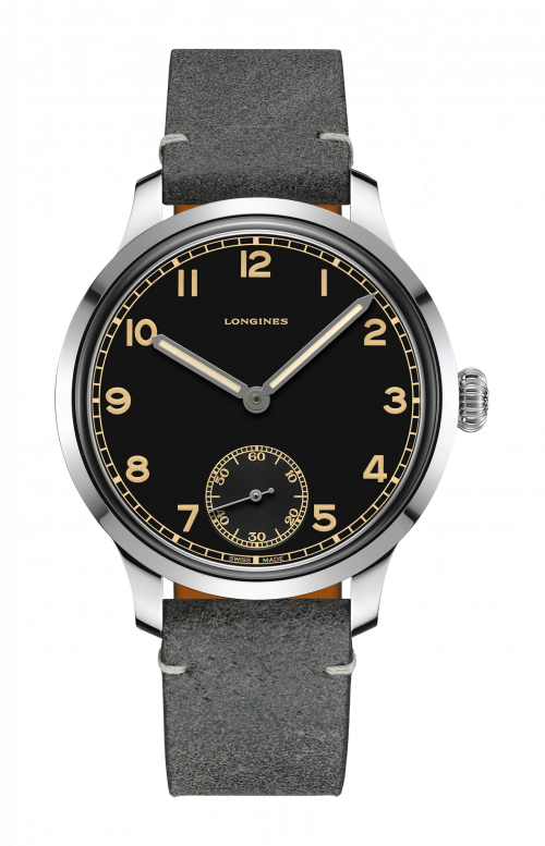 THE LONGINES HERITAGE MILITARY 1938 - L2.826.4.53.2