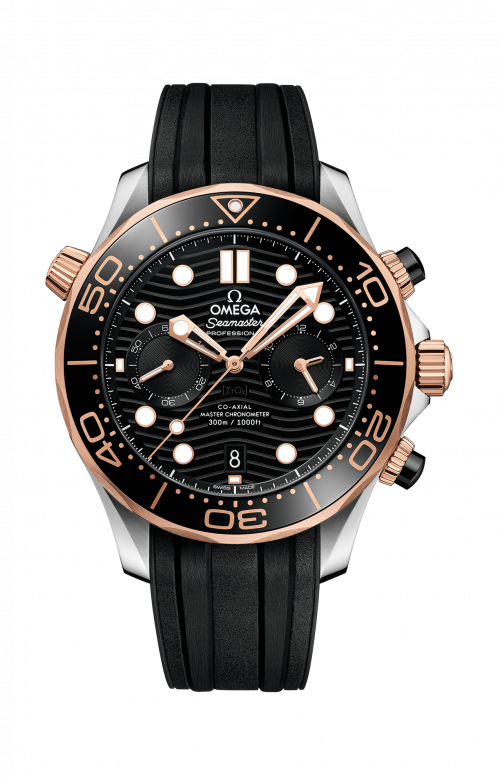SEAMASTER DIVER 300M OMEGA CO-AXIAL MASTER CHRONOMETER CHRONOGRAPH 44 MM - 210.22.44.51.01.001