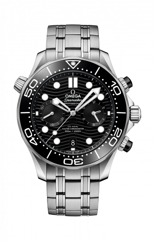 SEAMASTER DIVER 300M OMEGA CO-AXIAL MASTER CHRONOMETER CHRONOGRAPH 44 MM - 210.30.44.51.01.001