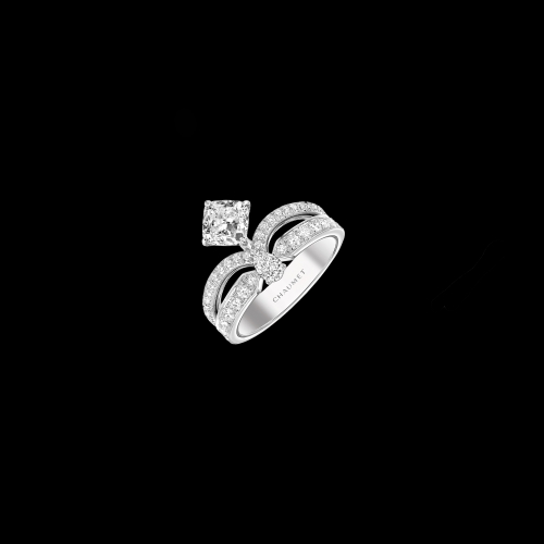 CHAUMET - ANELLO FLOREALE JOSÉPHINE ECLAT IN PLATINO CON DIAMANTI - J3MQ00