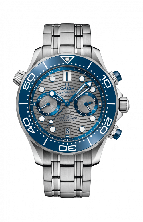 SEAMASTER DIVER 3000M OMEGA CO-AXIAL MASTER CHRONOMETER CHRONOGRAPH 44 MM - 210.30.44.51.06.001