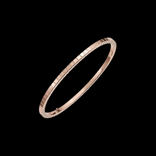 CHOPARD - ICE CUBE PURE - BRACCIALE RIGIDO IN ORO ROSA - 857702-5006